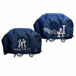 MLB Deluxe Vinyl Padded Grill Cover by Rico Industries -Sele