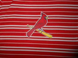 MLB Genuine Merchandise Mens St. Louis Cardinals Polo Golf S