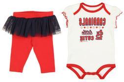 Outerstuff MLB Infant St. Louis Cardinals Little Cutie Creep