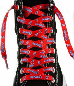 MLB St. Louis Cardinals 54-Inch LaceUps Shoe Laces