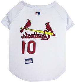 Pets First MLB St. Louis Cardinals Dog Jersey, Large