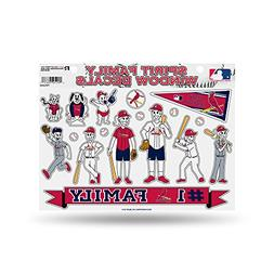 MLB St. Louis Cardinals Spirit Family Window Decals