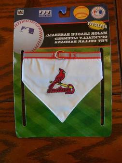 MLB Officially Licensed St. Louis Cardinals Pet Collar Banda