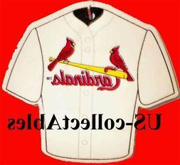MLB St Louis Cardinals Baseball Jersey Air Freshener Collect