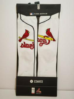 Stance MLB St. Louis Cardinals Home Baseball Socks Men's M