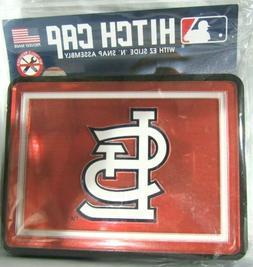 MLB St. Louis Cardinals Laser Cut Trailer Hitch Cap Cover Un