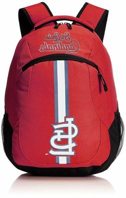 MLB St. Louis Cardinals Logo Action Backpack