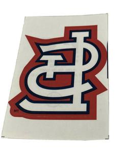 MLB St. Louis Cardinals Logo Baseball Indoor Decal Sticker F