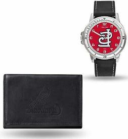 Rico Industries MLB St. Louis Cardinals Men's Watch and Wall