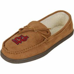MLB St Louis Cardinals Moccasin Slipper Tan