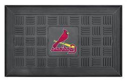 "FANMATS 11316 MLB St Louis Cardinals Vinyl Door Mat , 19""x30"