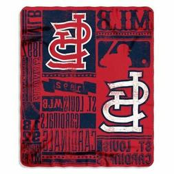 "MLB Team ""Vintage Baseball"" Lightweight Fleece Throw Blanket"