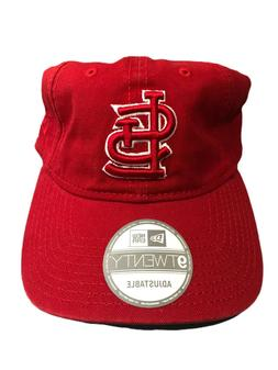 New Era 9 Twenty St. Louis Cardinals  Red One Size Adjustabl