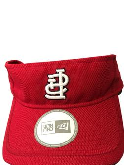 New Era St. Louis Cardinals  Red One Size Visor