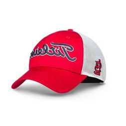 New Titleist Golf MLB Twill Mesh Hat Adj. St. Louis Cardinal