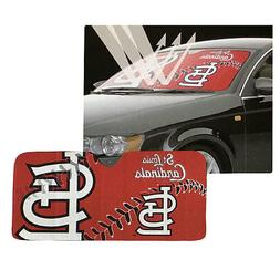 New MLB St. Louis Cardinals Car Truck Windshield Folding Sun