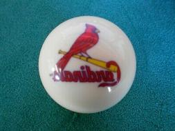 NEW! MLB St Louis Cardinals Collector White Pool Billiard Cu