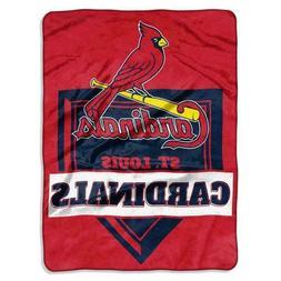 New St Louis Cardinals Licensed 60 x 80 Raschel Throw Blanke