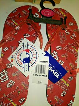 new st louis cardinals sandals mlb flip