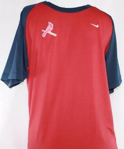 NEW Youth Boys Kids NIKE Fit St Louis CARDINALS Red Blue Bas