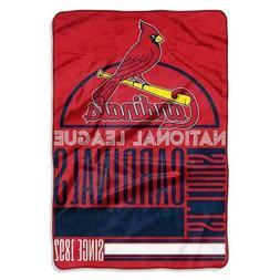 Official MLB St Louis Cardinals OVERSIZED Soft Fleece Throw