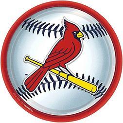 St. Louis Cardinals Party Plates - 18 Ct