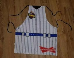 Peoria Chiefs  vintage Budweiser full size Apron rare New