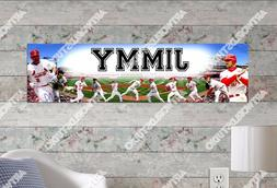 Personalized/Customized St. Louis Cardinals Name Poster Wall
