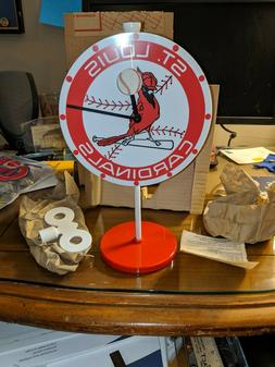 Rare VTG Westclox Team Mate St. Louis Cardinals Lollipop Ala
