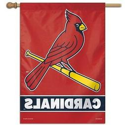 ST. LOUIS CARDINALS ~  Official MLB 28x40 Outdoor House Flag