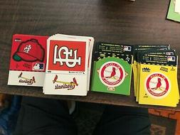 ST. LOUIS CARDINALS  - 1982 FLEER LOGO STICKERS TEAM EMBLEMS