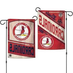 ST. LOUIS CARDINALS ~ 2-Sided Official MLB 12.5 x 18 Garden
