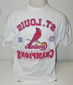 St. Louis Cardinals  2006 World Series White T-Shirt Adult 4
