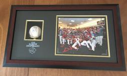 St. Louis Cardinals 2011 World Series MVP David Freese Signe
