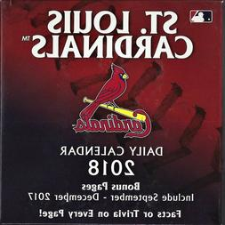 ST. LOUIS CARDINALS / 2018 Daily Calendar by Turner