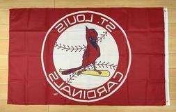 St. Louis Cardinals 3x5 ft Flag Banner MLB Retro Vintage Thr