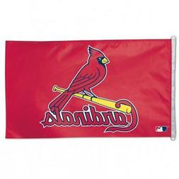 St Louis Cardinals 3x5 House Flag  MLB Banner Fan Sign Wall