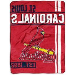 St Louis Cardinals 46x60 Raschel Throw Blanket - Walk Off De