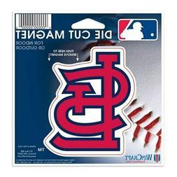 "St. Louis Cardinals WinCraft 5"" Die-Cut Car Magnet"