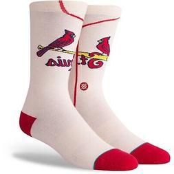 St. Louis Cardinals Stance Alternate Jersey Socks