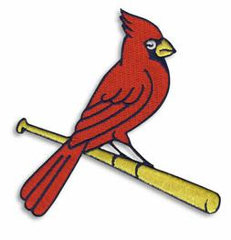 St. Louis Cardinals Alternate Team Logo Cardinal On Bat Patc