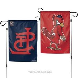 ST. LOUIS CARDINALS ANGRY BIRD COOPERSTOWN 2 SIDED GARDEN FL