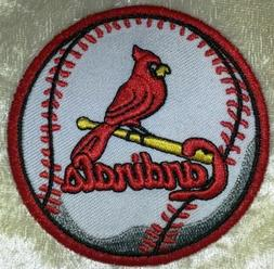 "St. Louis Cardinals Baseball 3"" Iron /Sew On Embroidered Pat"