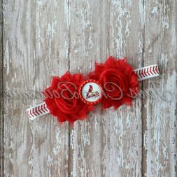 St Louis Cardinals baseball elastic infant, toddler,or adult