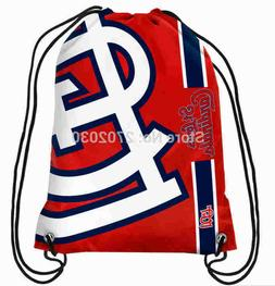 St Louis Cardinals Baseball Logo Drawstring Bags Men Sports