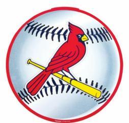 ST. LOUIS CARDINALS BASEBALL PLATES MLB Party Supply 9 inch