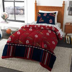 MLB St. Louis Cardinals Bed In Bag Set Multiple Sizes