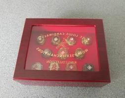 St. Louis Cardinals Championship REPLICA Ring Set Size 11 *S