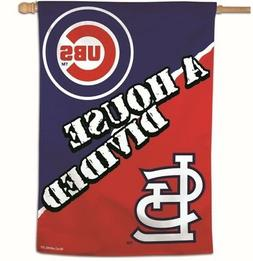 ST. LOUIS CARDINALS - CHICAGO CUBS House Divided 28x40 Outdo