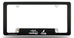 St Louis Cardinals Chrome License Plate Frame Metal Tag Cove